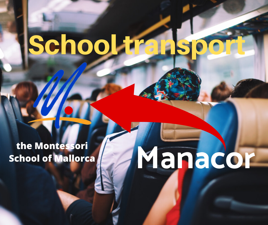 School transport from Manacor to the school for older students