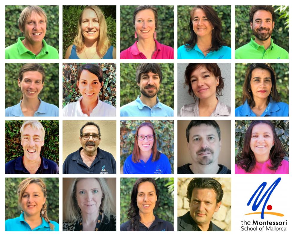 Staff at The Montessori School of Mallorca