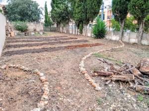 We are preparing our veggie garden