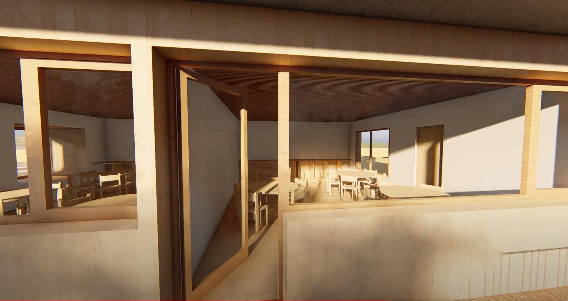 Two Secondary school rooms on the first floor - - international Montessori School of Mallorca